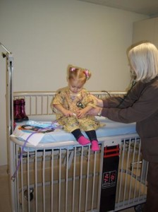 Pediatric patients are given special and individual attention
